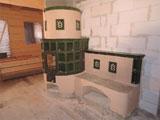 310 Kulatá kamna s lavicí