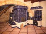 Gotická kamna s pecí